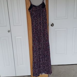 Fossil Dresses - Fossil maxi dress red white blue